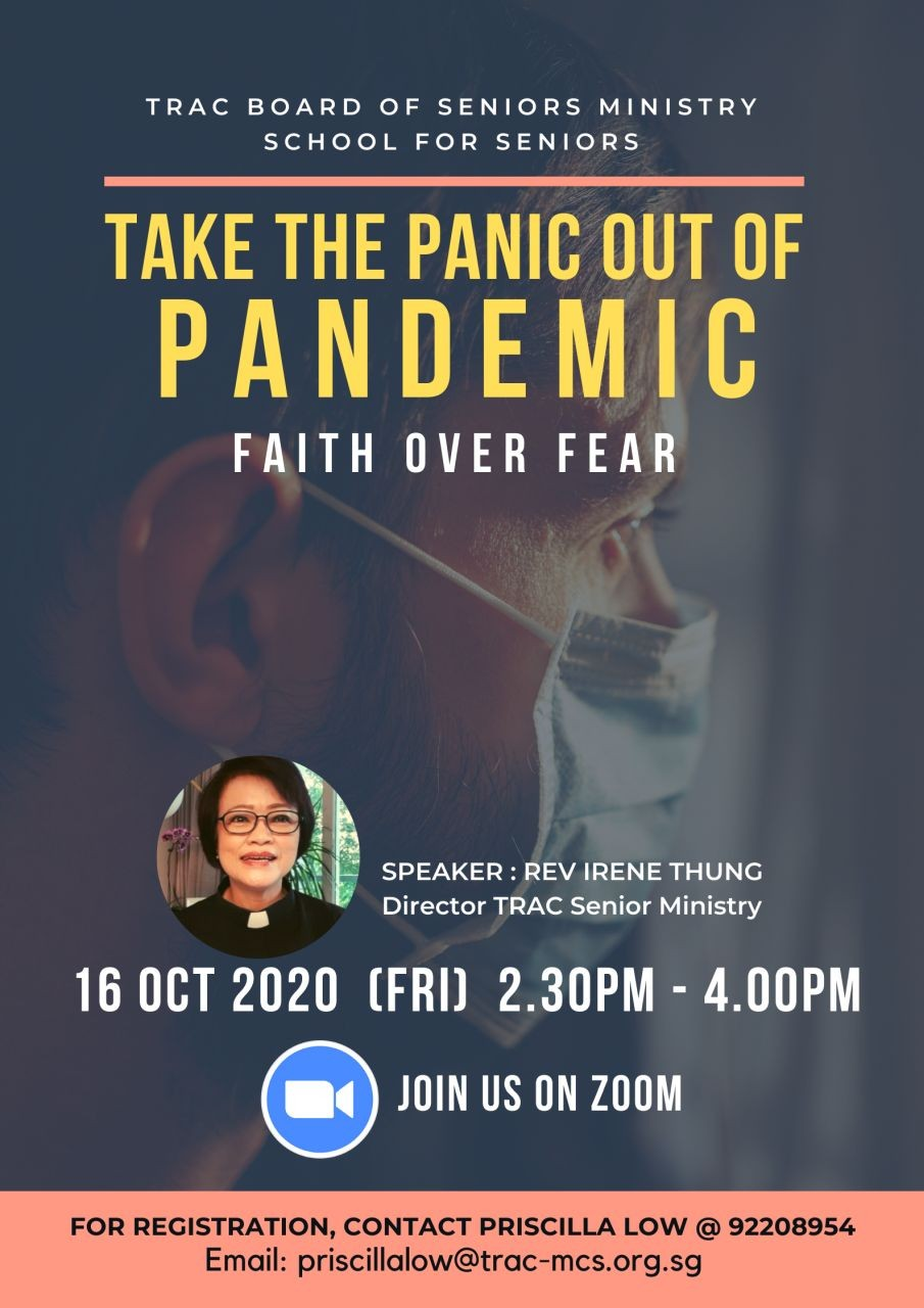 Take the Panic out of Pandemic (TRAC Seniors Ministry)