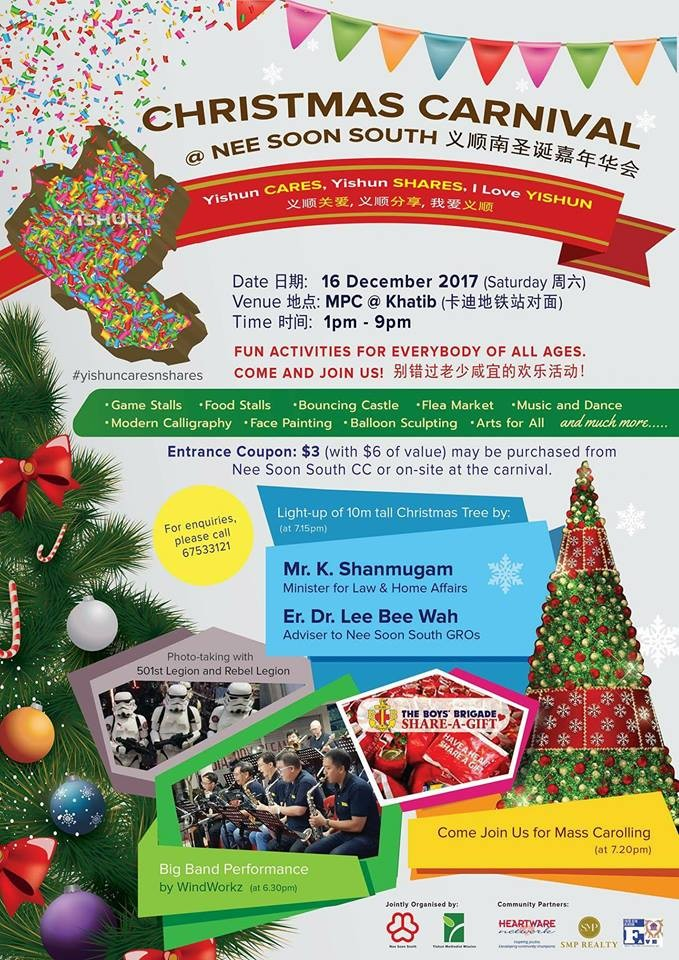 Christmas Carnival @ Nee Soon South
