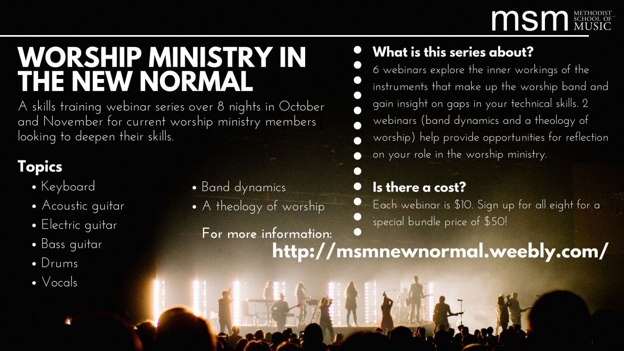 Worship Ministry in the New Normal (MSM)