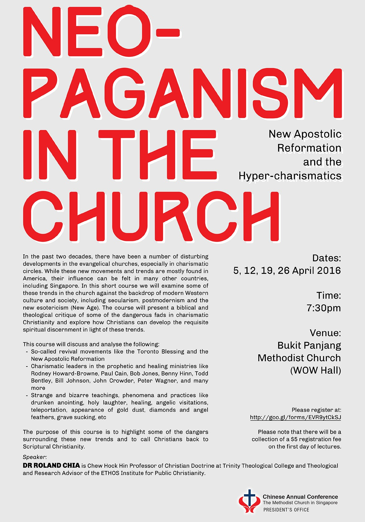 CAC Course: Neo-Paganism in the Church