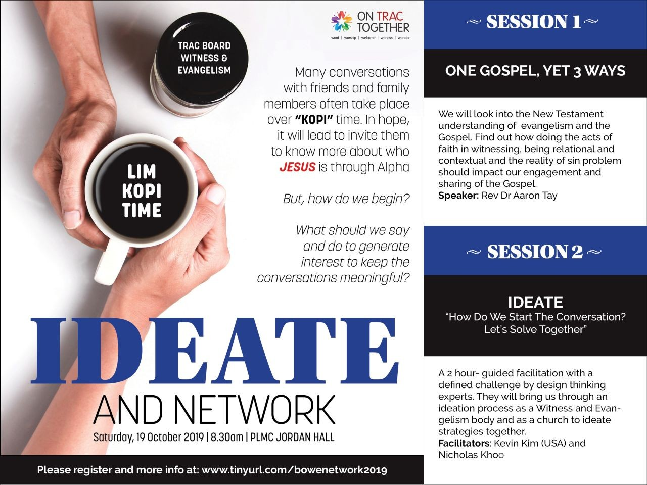 Ideate and Network (TRAC BOWE)