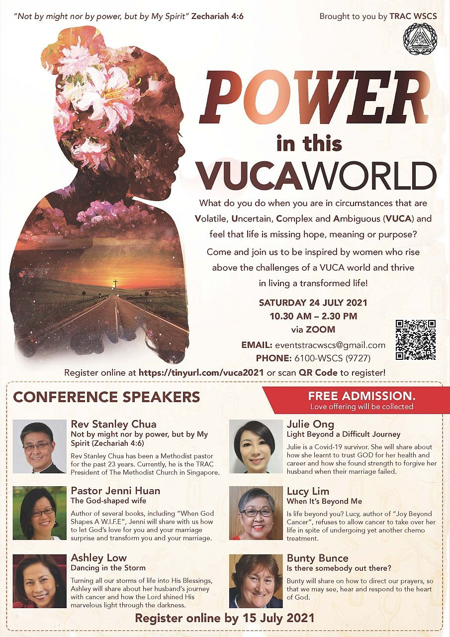 POWER in this VUCA World (TRAC WSCS)