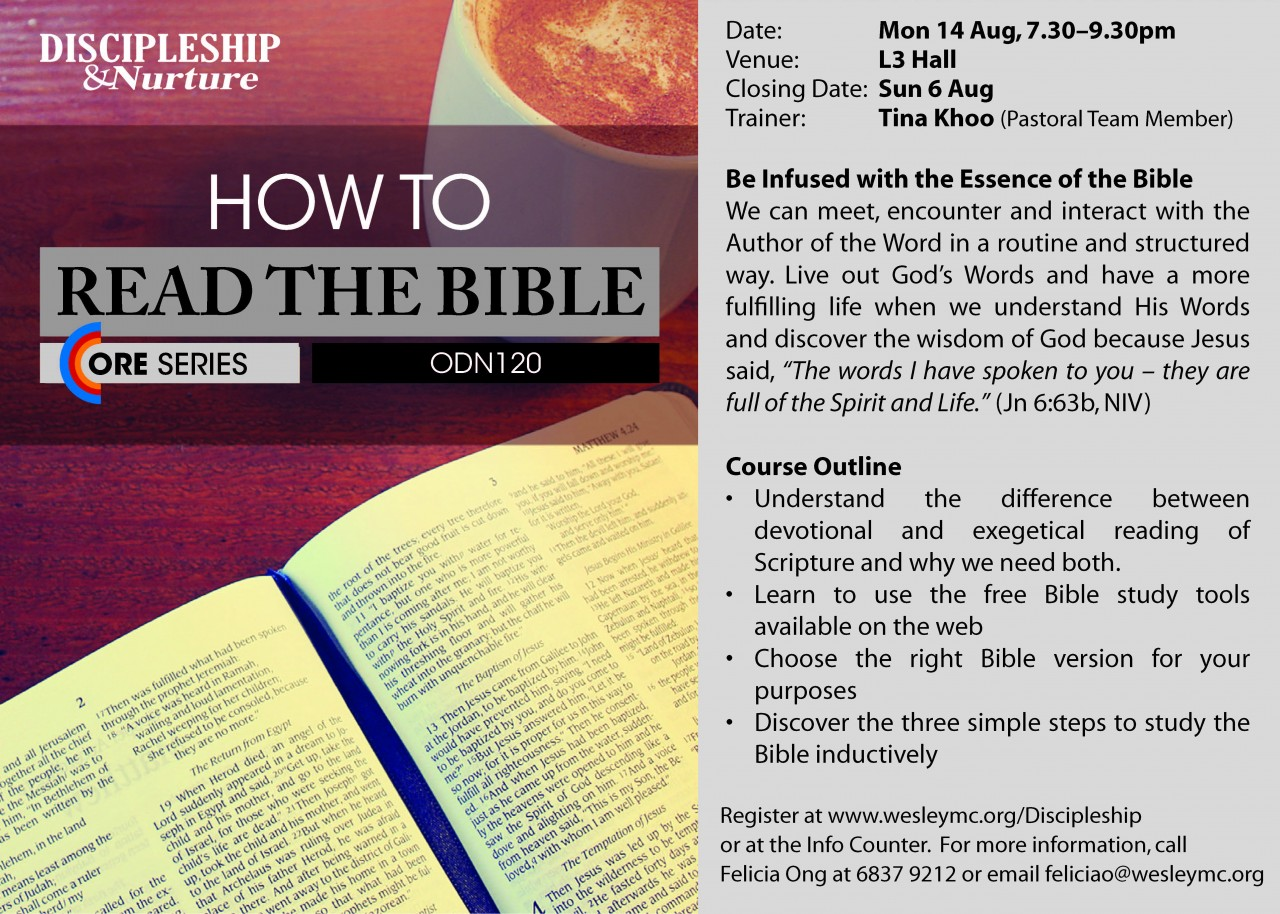 How to Read the Bible (WMC)