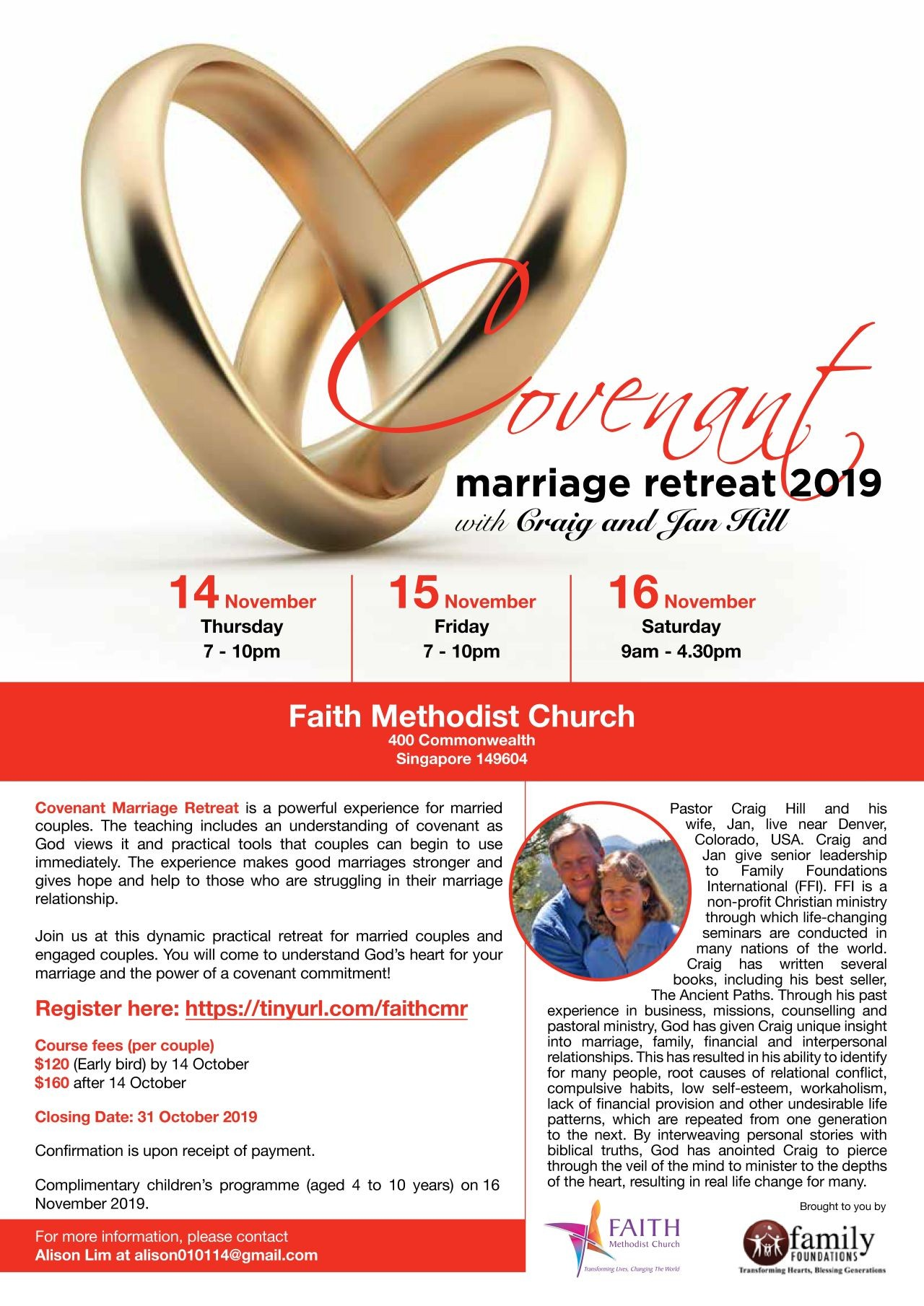 Covenant Marriage Retreat 2019 (Faith MC)