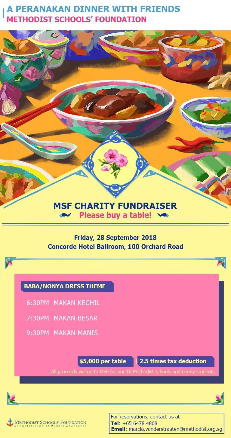 MSF Charity Fundraiser 2018