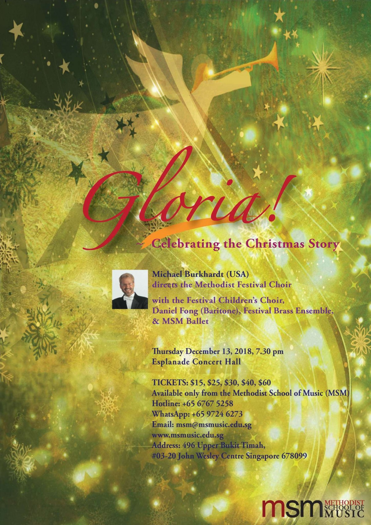 GLORIA! Celebrating the Christmas Story (MSM)