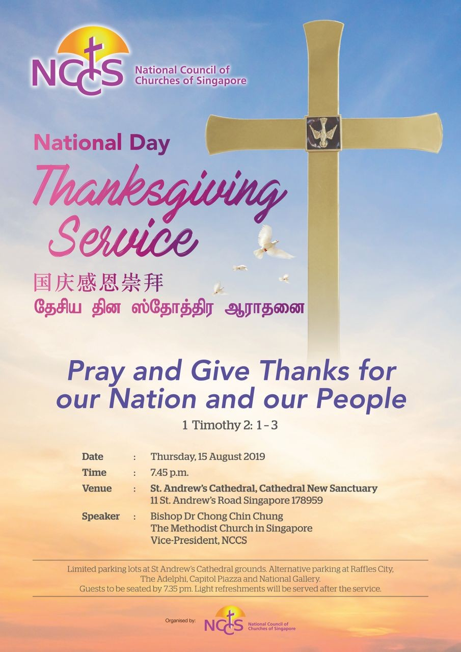 National Day Thanksgiving Service (NCCS)