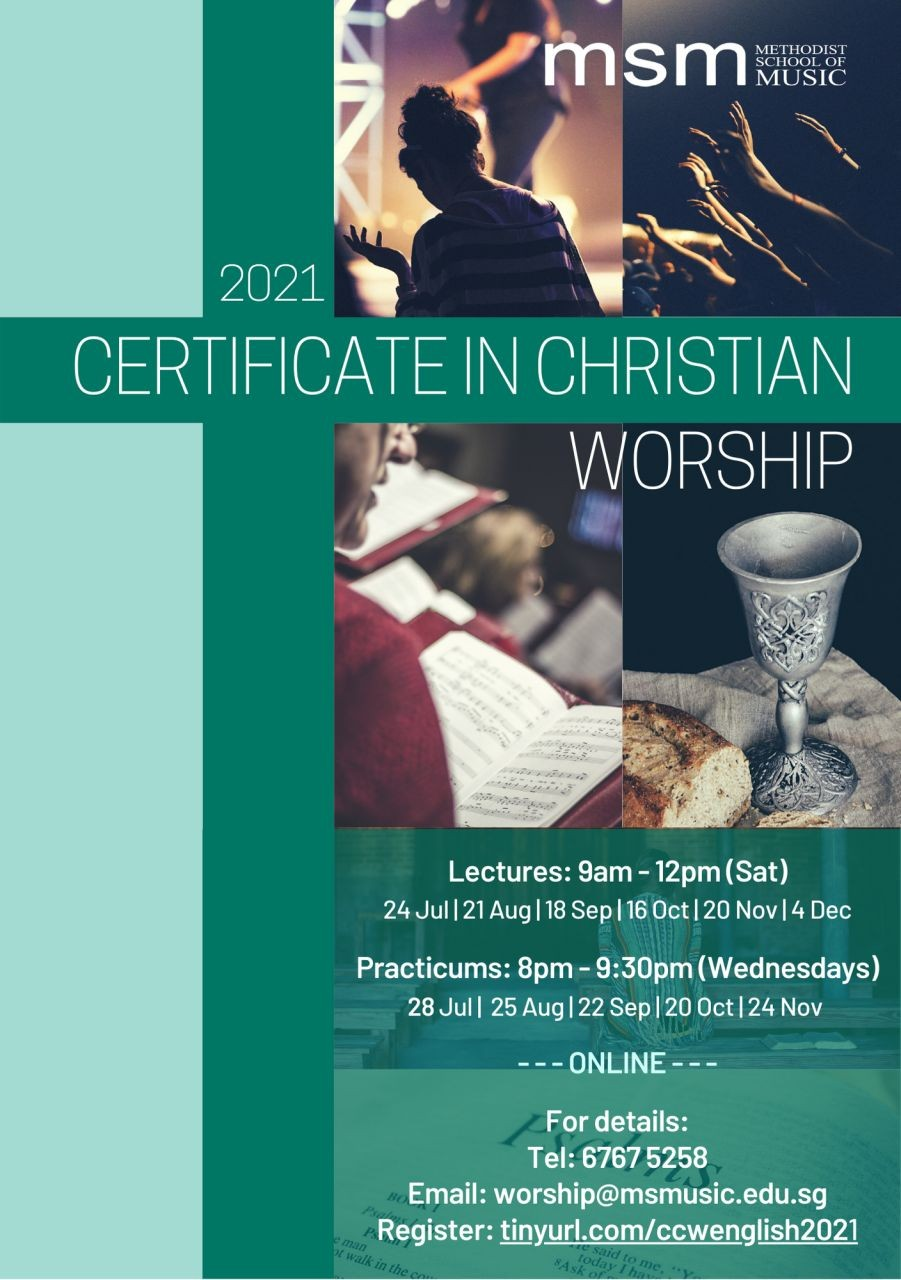 MSM: Certificate in Christian Worship (2021)