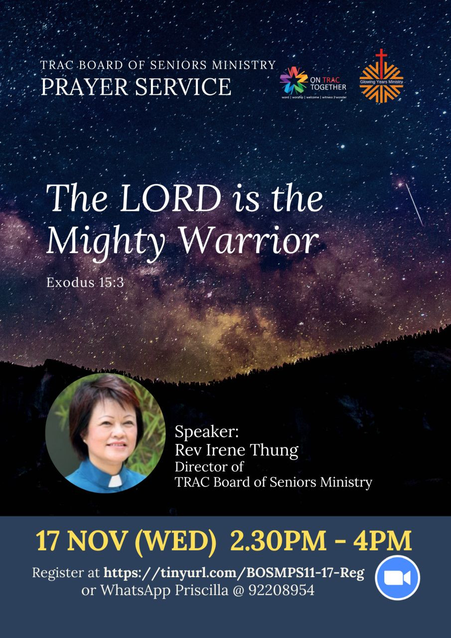 The LORD is the Mighty Warrior (TRAC Seniors Ministry)
