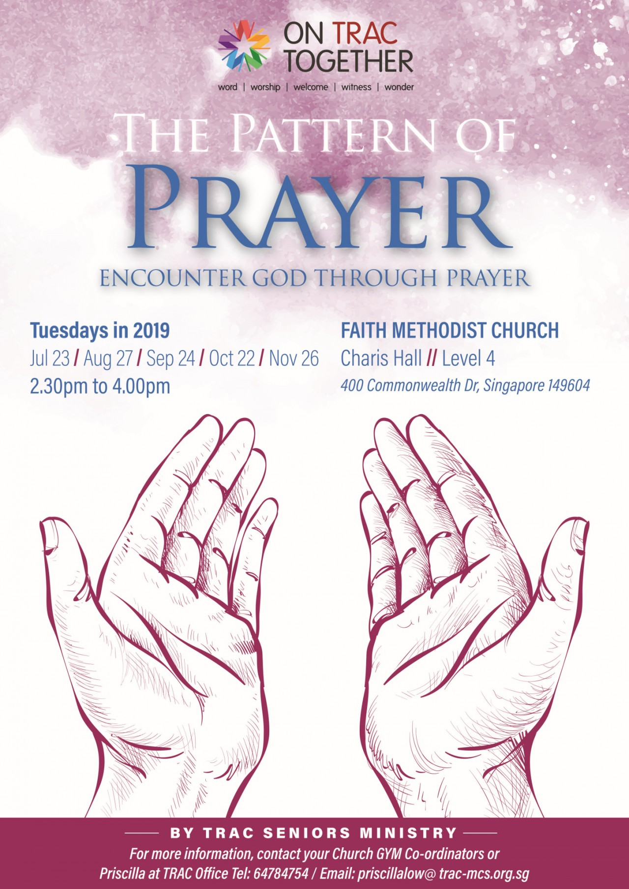 The Pattern of Prayer (TRAC Seniors Ministry)