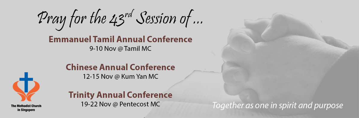 Pray for Annual Conference 2018 Sessions