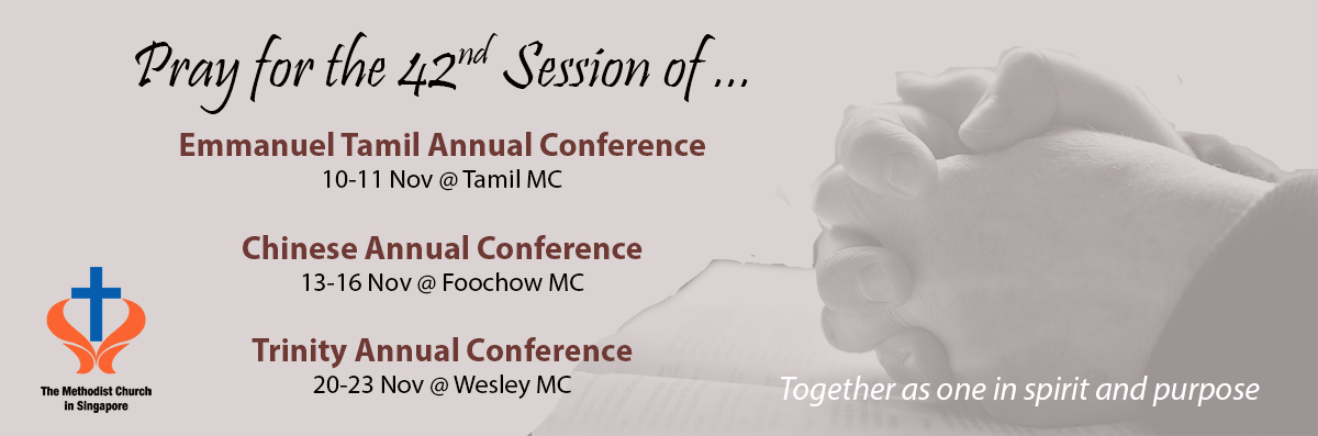 Pray for Annual Conference 42nd Sessions