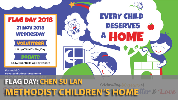 Flag Day: Chen Su Lan Methodist Children's Home