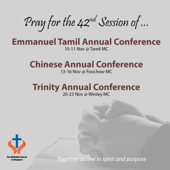 Pray for Annual Conference 2017 Sessions