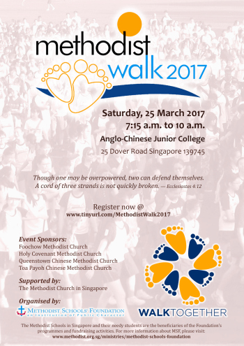 Methodist Walk 2017